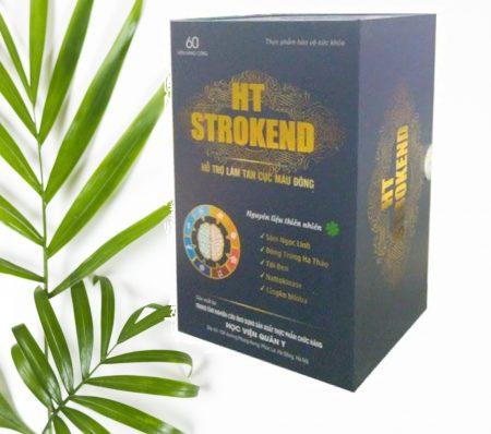 HT Strokend Tab.60 – Hỗ Trợ Điều trị Tai Biến Mạch Máu Não