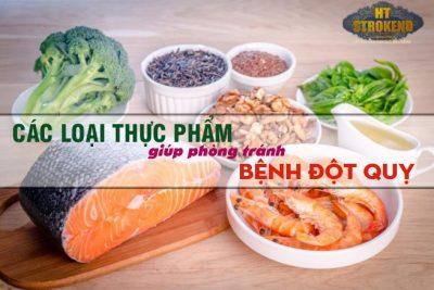 Các loại thực phẩm giúp phòng ngừa bệnh tai biến mạch máu não