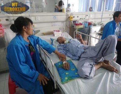 Bệnh nhân viêm phổi nặng