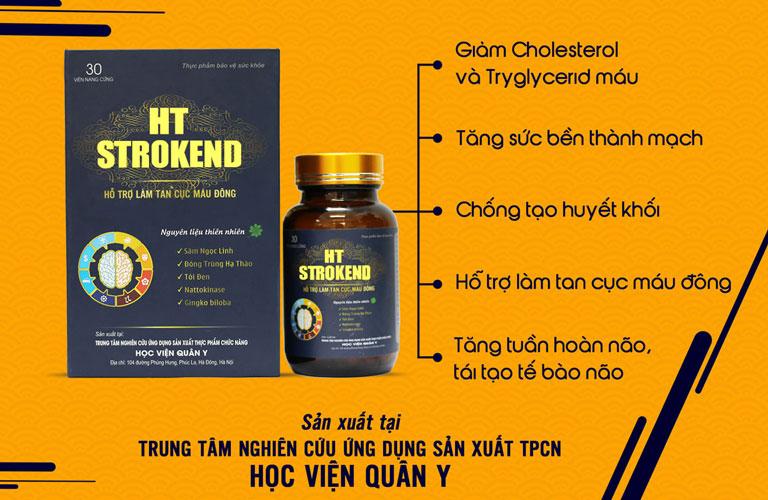 HT STROKEND hỗ trợ làm tan cục máu đông